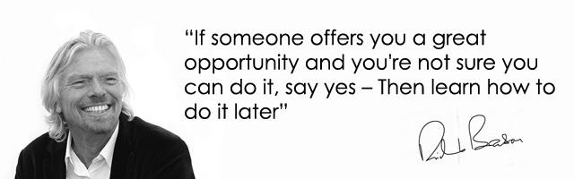 Branson On Opportunity